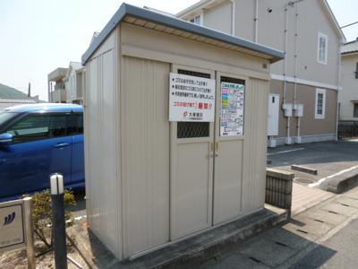 敷地内ゴミステーション