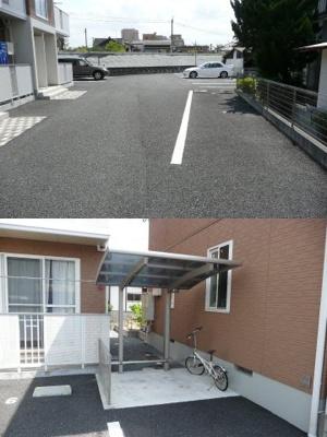 【駐車場】シャーメゾン淡窓 A