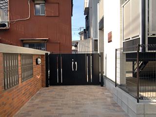 オートロックゲート