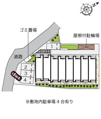 【地図】クレイノサードT