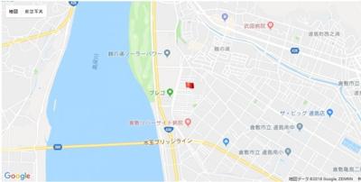 【地図】サンタウンくらしき鶴の浦 第3期