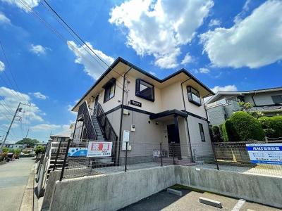 グリーンライン「北山田」駅、ブルーライン・グリーンライン「センター北」駅より徒歩圏内!2沿線2駅利用可能で便利♪2階建のアパートです☆