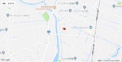 【地図】ウィステリアガーデン茶屋町鶴崎2期