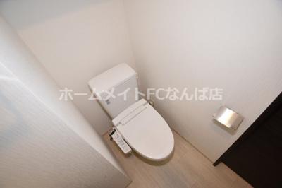 【トイレ】エステムコート北堀江