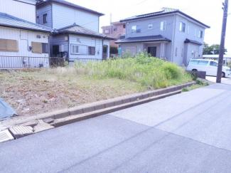 袖ケ浦市蔵波台 土地 長浦駅 間口が広いので、南面に3部屋を配置でき、設計し易いお土地であります!!