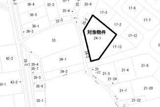 【土地図】丸亀市城南町売土地