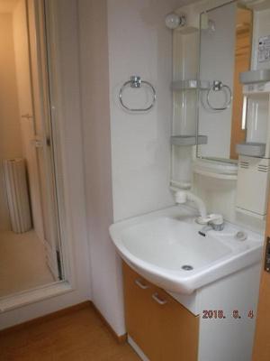 ロトルアAの浴室