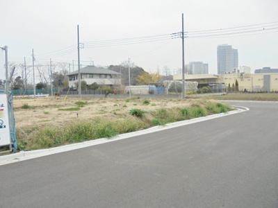 【前面道路含む現地写真】十余二土地