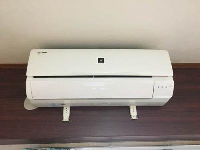 空気清浄機付きエアコン設置