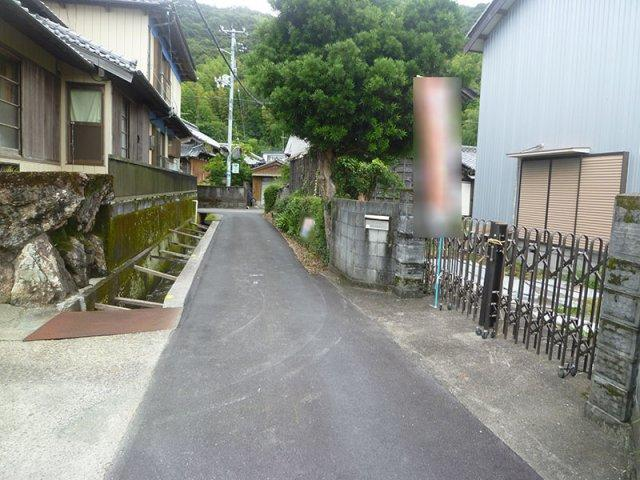 【前面道路含む現地写真】春野町甲殿