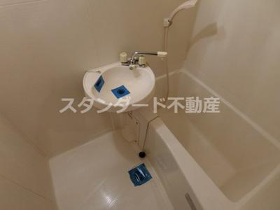 【浴室】メゾン・ド・ヴィレしうん福島