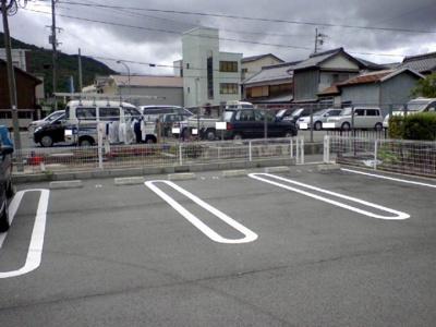 【駐車場】スカイハイツ