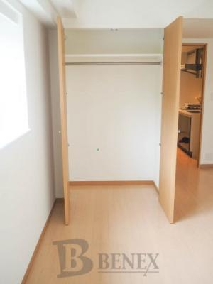 グランハイツ新宿の収納スペースです