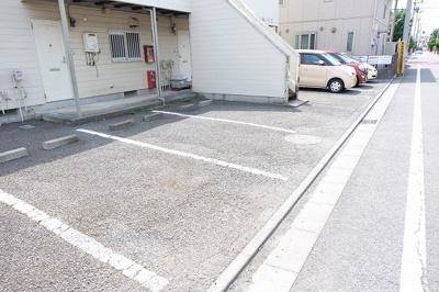 【駐車場】ビューアザレアⅡ