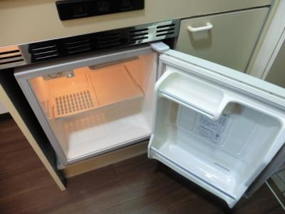 冷蔵庫付きです