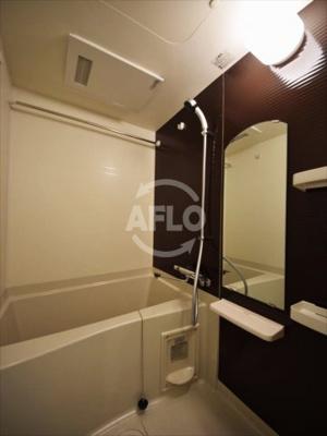 ヒュッテンベルケ大阪なんば 浴室換気乾燥暖房機付バスルーム
