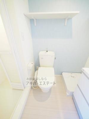 【トイレ】ハーモニーテラス足立Ⅱ