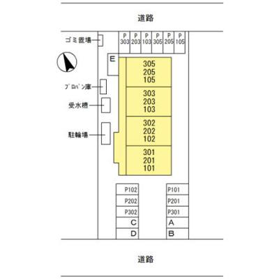 【区画図】ジョウエイ別府