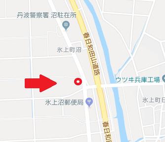 【地図】氷上町沼 売地