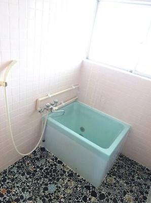 【浴室】ひばり荘アパート