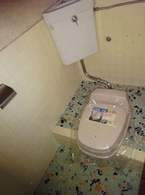 【トイレ】ひばり荘アパート