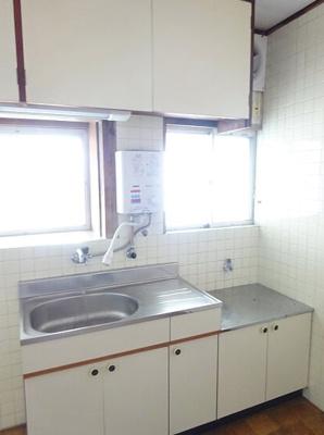 【キッチン】ひばり荘アパート