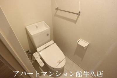 【トイレ】ラヴィーヌみどりの
