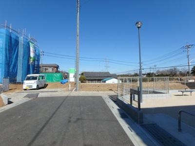 【周辺】東松山市野田分譲地