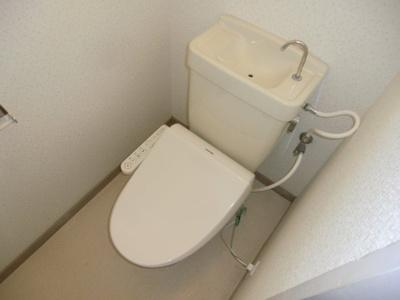 【トイレ】ハイツ南本町