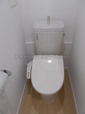 フェリスコーラスのトイレ★