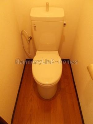 ハタノハウスの広々トイレも気になるポイント