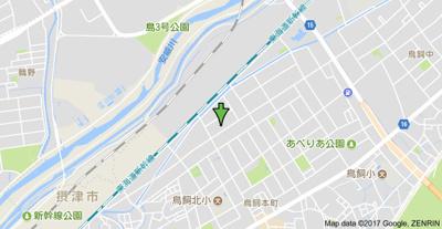 【地図】江川コーポ