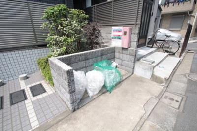 敷地内ゴミ置き場 メゾン・ド・ラペ