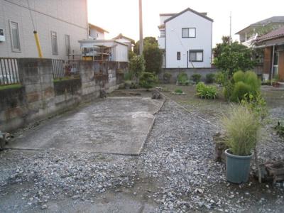 【駐車場】藤岡市中大塚の中古戸建