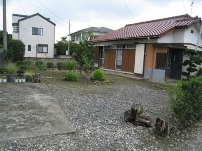 【庭】藤岡市中大塚の中古戸建