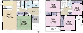 平成15年11月築 敷地約78坪 2台可能 5LDK建坪約43坪