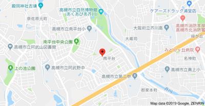 【地図】南平台1丁目戸建