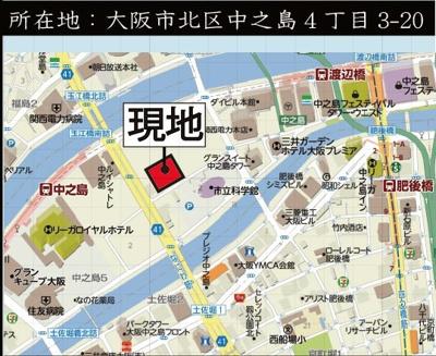 【地図】N4TOWER