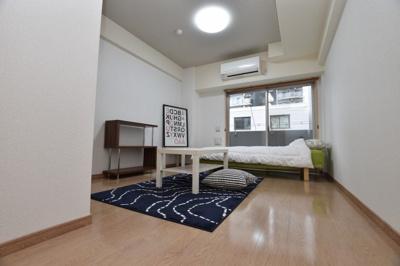 【寝室】おおきに夕陽ヶ丘サニーアパートメント