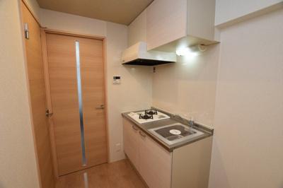 【キッチン】おおきに夕陽ヶ丘サニーアパートメント