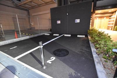 【駐車場】エスリード難波ステーションゲートノーステラス