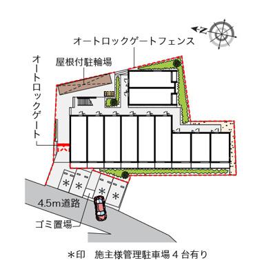 【地図】モリシゲ