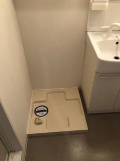 【K-flatz】室内洗濯機置き場