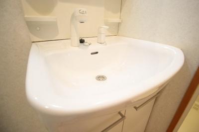 使いやすい広めの洗面台です