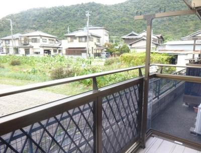 【バルコニー】西蒲田ハイツ