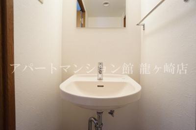 【洗面所】リーフ・ザ・ガーデン龍ヶ崎