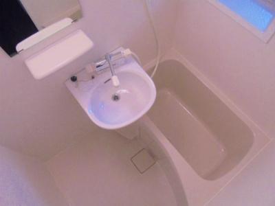 【浴室】湯里コーポ