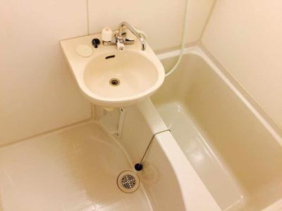 【浴室】コーポエバラ