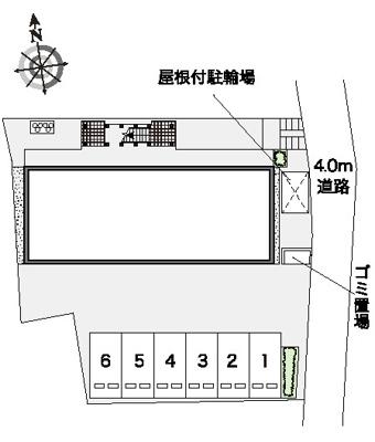 【区画図】コーポエバラ