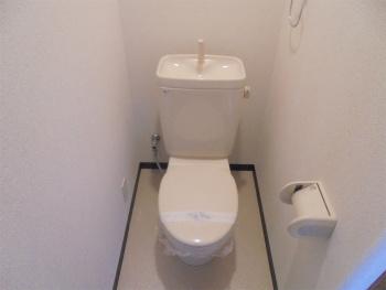 【トイレ】バンブーコートⅢ番館